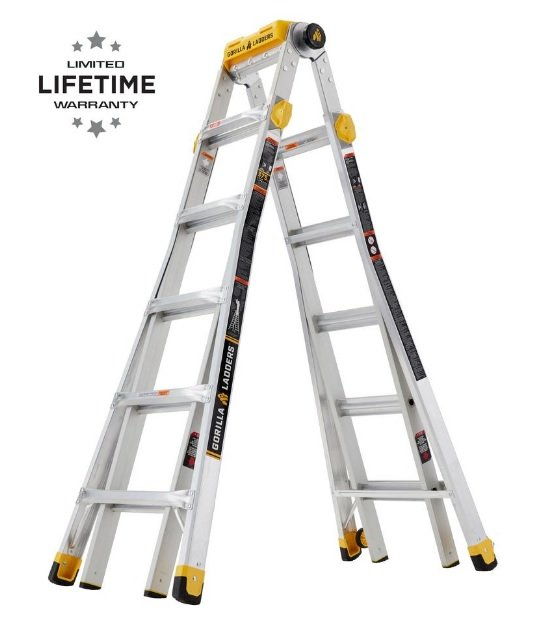 Gorilla #GLMPXT-23 Multi-Position Ladder