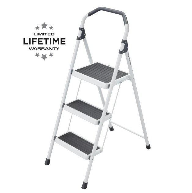 Gorilla #GLS-3-2 3 Step Stool Ladder