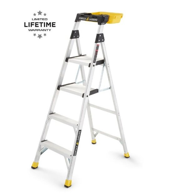 Gorilla #GLX-5B Heavy-Duty Hybrid Ladder