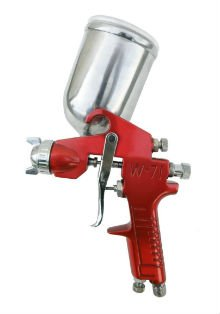 SPRAYIT SP-352 Gravity Feed Spray Gun with Aluminum Swivel Cup
