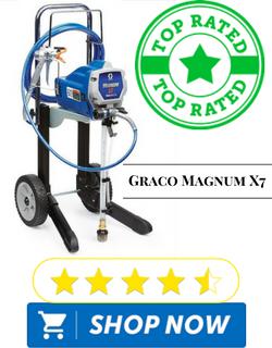 Graco Magnum 262805 X7 Hiboy Cart Airless Paint Sprayer