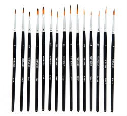Virtuoso 15-Piece Fine Paintbrushes