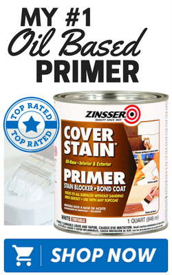 Zinsser 03504 Cover Stain InteriorExterior Oil Primer Sealer