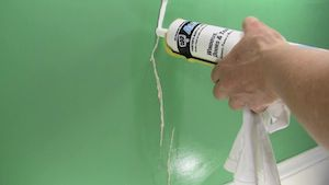 caulking wall